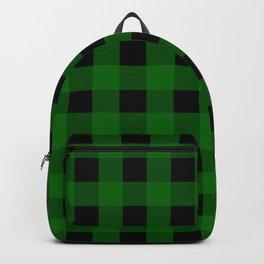 Pine Green Buffalo Check - more colors Backpack