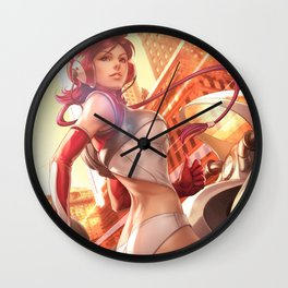 Pepper Delivery Wall Clock