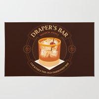 bar Area & Throw Rugs featuring Draper's Bar by Matt Dearden