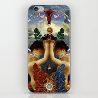 venus iPhone & iPod Skins featuring Venus by DIVIDUS