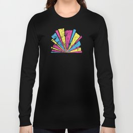 CMYK Star Burst Long Sleeve T-shirt