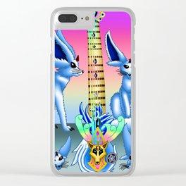 Fusion Keyblade Guitar #115 - Vulpeus' Keyblade & Brightcrest Clear iPhone Case