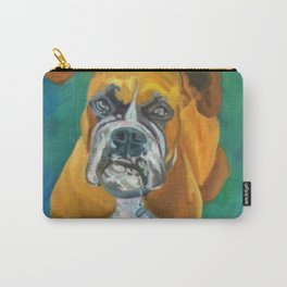 Boxer Dog Fine Art Print Carry-All Pouch
