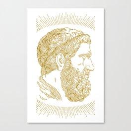 Holy Beard Canvas Print