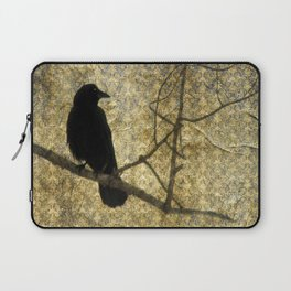Crow Of Damask Laptop Sleeve