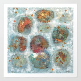 Abstract Painting 84 Art Print