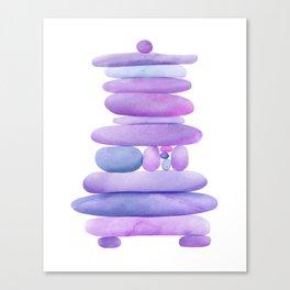 Lavender Stack Canvas Print