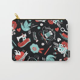 Sewing Fancy Tattoos Carry-All Pouch