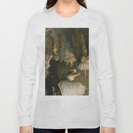 """Edgar Degas """"The Rehearsal of the Ballet Onstage"""" Long Sleeve T-shirt"""