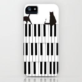 Piano Cat iPhone Case