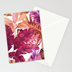 Tropical Leaf 2 Stationery Cards