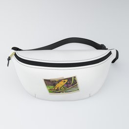 Dart Frog Dream | Vintage Instant Camera Painting Fanny Pack