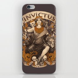 INVICTUS iPhone Skin