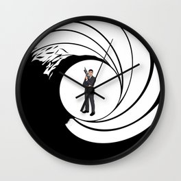 The Name is Archer. Wall Clock