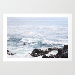 Ocean of Blue Art Print