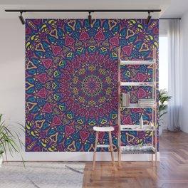 Paradise Sunset Mandala Wall Mural