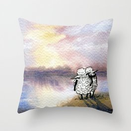 Companion Sheep Throw Pillow