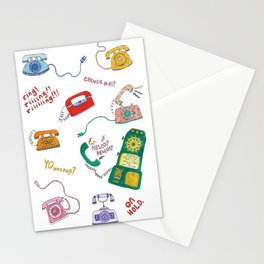 Ring Ring! Stationery Cards