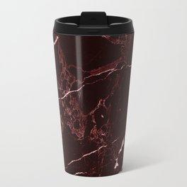 Masala Red Marble Travel Mug