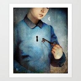 Unlock Art Print