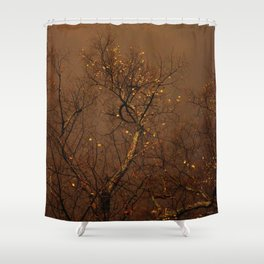 The Golden Trees Shower Curtain