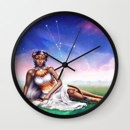 Taurus OC - 12 Zodiac Ladies Wall Clock