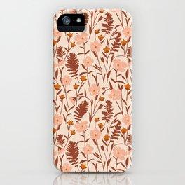 Flax Meadow II iPhone Case
