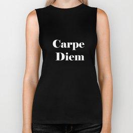 Carpe Diem - black Biker Tank