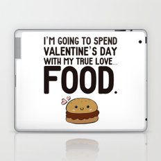 True love... Food! Laptop & iPad Skin