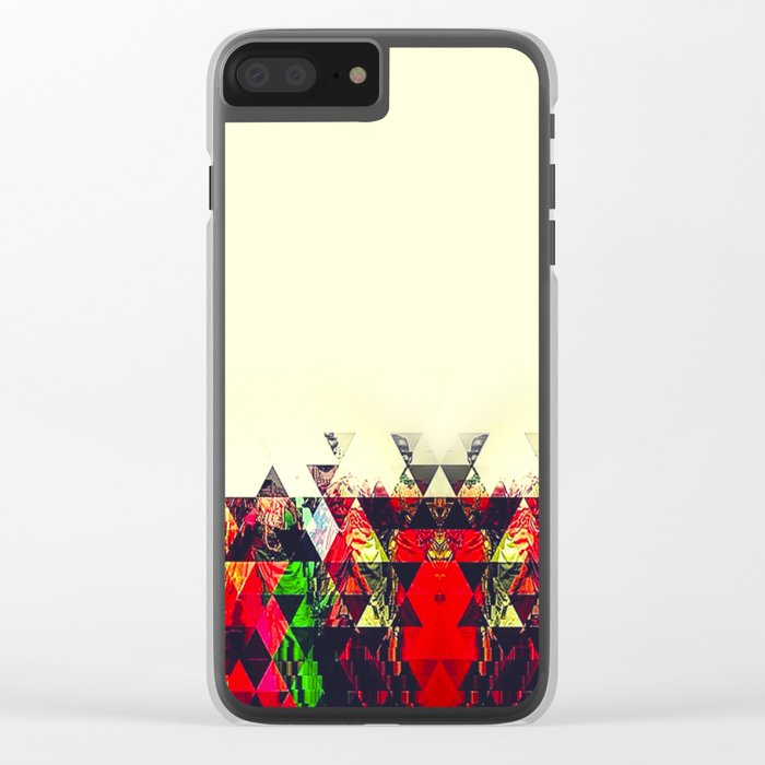 TRIABHES Clear iPhone Case