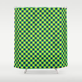 Gingham - Healthy Garden Shower Curtain