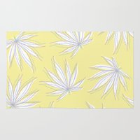 weed Area & Throw Rugs featuring weed by Estelle F