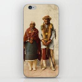 Native American Couple iPhone Skin