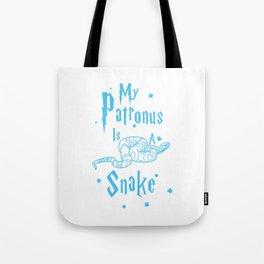 Snake Patronus Tote Bag