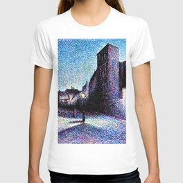 12,000pixel-500dpi - Maximilien Luce - Rue Ravignan, Paris - Digital Remastered Edition T-shirt