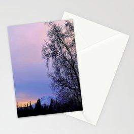 Chugach Mts Serenity Sunrise - I Stationery Cards