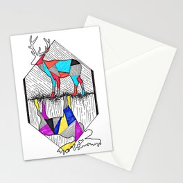 A wounded deer leaps the highest Stationery Cards
