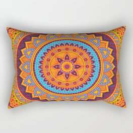 Hippie mandala 67 Rectangular Pillow
