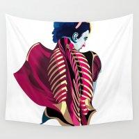 anatomy Wall Tapestries featuring Anatomy 07a by Alvaro Tapia Hidalgo