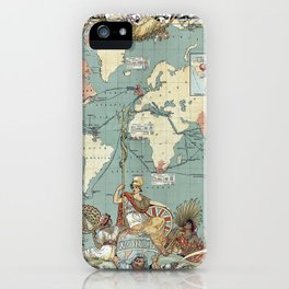 The British Empire 1886 iPhone Case