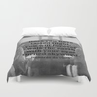 da vinci Duvet Covers featuring Flight Da Vinci by KimberosePhotography