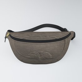 Brown vintage faux leather Fanny Pack