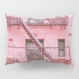 Pink Soho NYC Pillow Sham