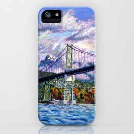 The Lions Gate, Vancouver iPhone Case