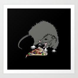 Pizza Lover Art Print