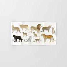 Wild Cats Hand & Bath Towel