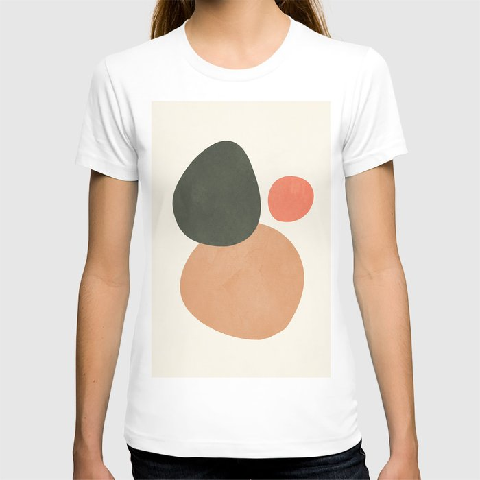 abstract minimal 21 T-shirt