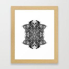 msfofjsfjosfn9 Framed Art Print