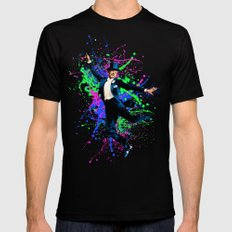 Astaire Fred, still dancing. Black X-LARGE Mens Fitted Tee