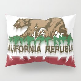 California Republic Flag Creative Pillow Sham